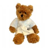 Toffee Bear with Embroidered Bathrobe